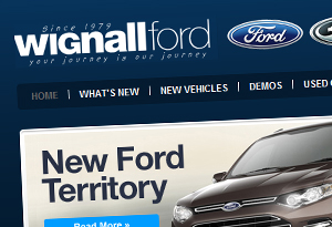 Wignall Ford Web Design