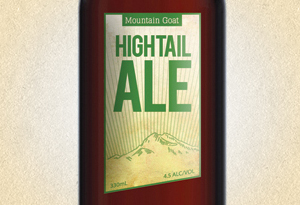 Mountain Goat Hightail Ale Package Design