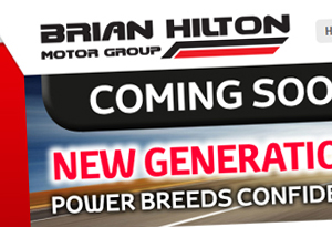 Brian Hilton Motor Group Web Design