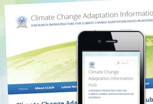 Climate Change Adaptation Information Hub Website