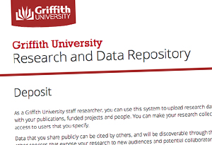 Griffith University Research and Data Repository